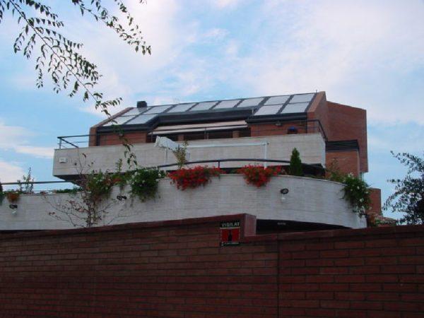 proyecto de enegía solar térmica